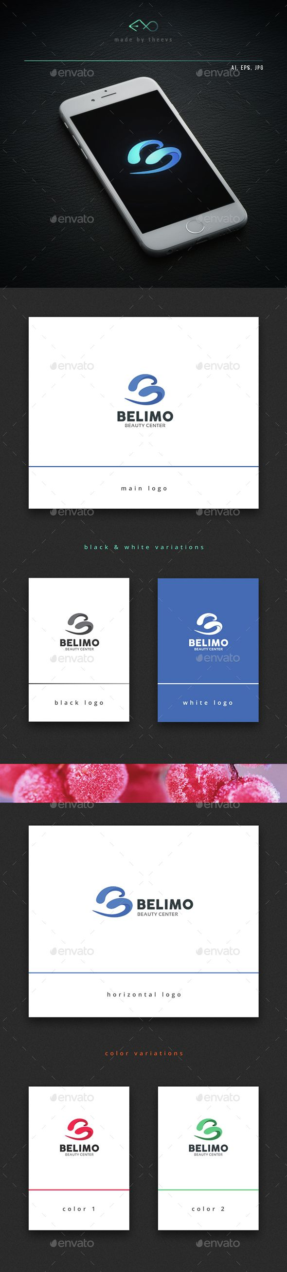 Belimo Logo Template Vector EPS, AI Illustrator #logotype Download ...