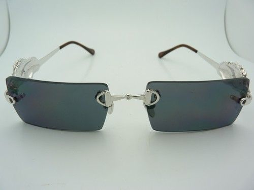 $2,999.99High End Designs Hand Made in The USA 18K White Gold Diamond Sunglasses | eBay