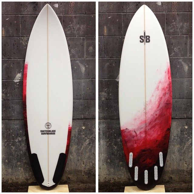 """5'11"""" x 19 5/8"""" x 2 3/8"""" Shiv by @switchblade_surfboards #switchbladesurfboards #surfboard #canada #eh"""