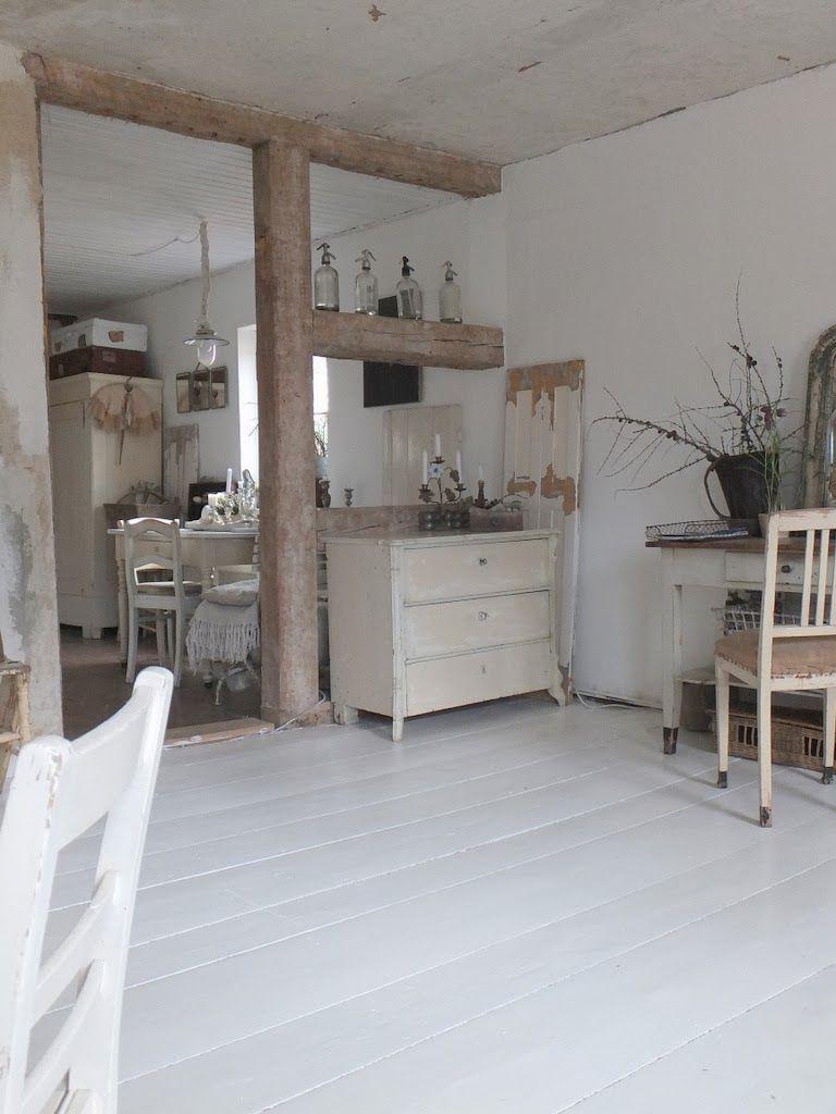 wohnzimmer weibe mobel : Wohnzimmer Im Shabbychic Einrichten Alte Weisse M Bel Antike