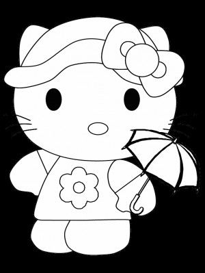 Hello Kitty Hello Kitty Coloring Hello Kitty Colouring Pages Kitty Coloring