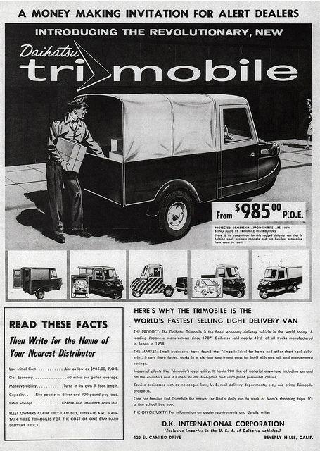 1959 Daihatsu Trimobile