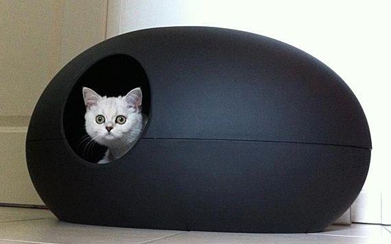 Le Poopoopeedo Super Stylish Modern Litter Box Cat Litter
