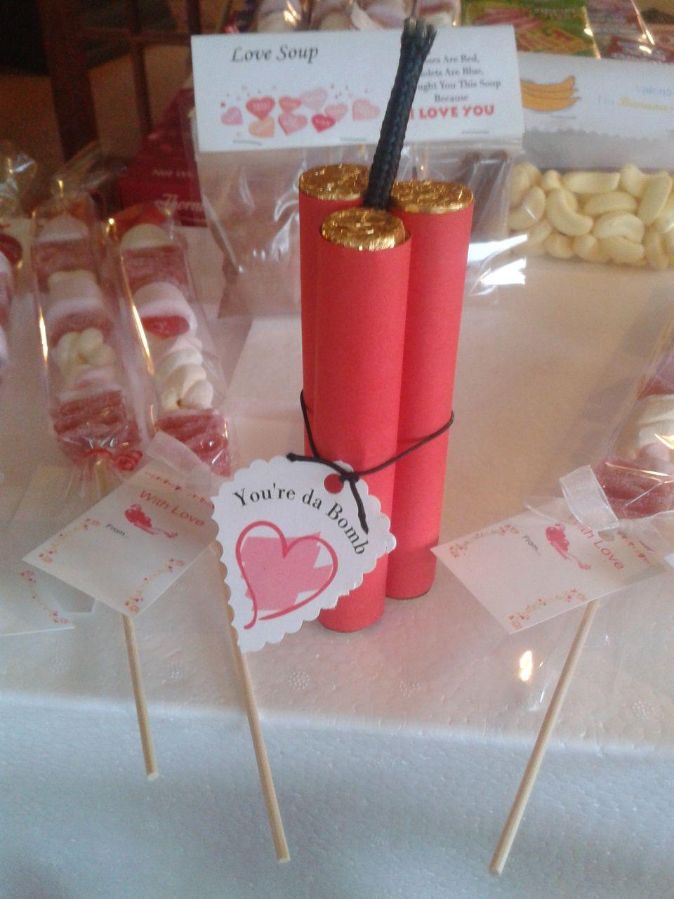 Your Da Bomb Valentine Dynamite Gift | Valentines's ...