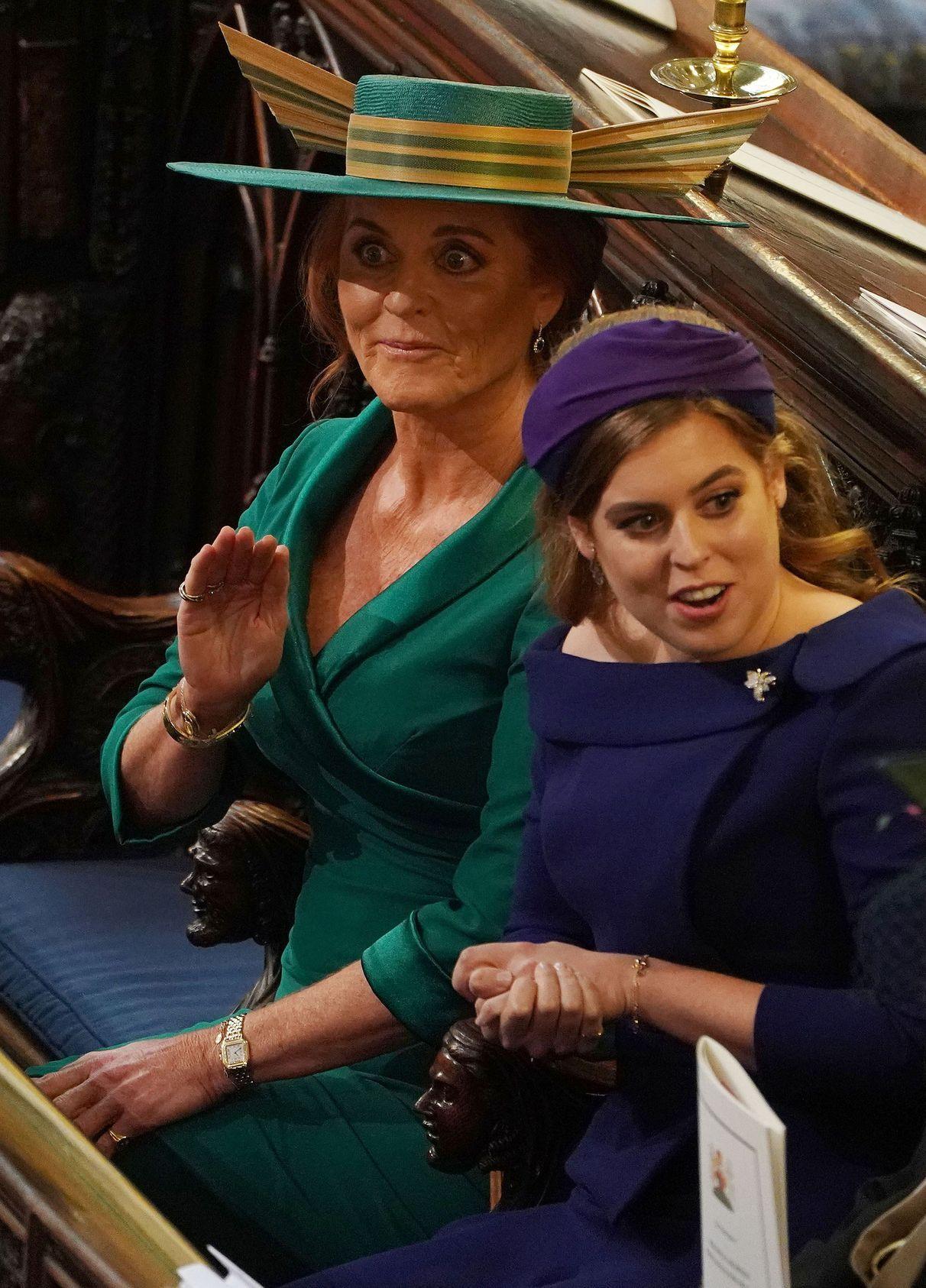 15 HILARIOUS Photos From Princess Eugenie's Wedding You