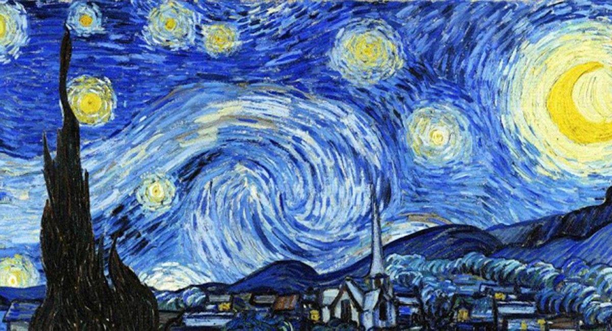 El Secreto Mejor Guardado De La Noche Estrellada De Van Gogh Revista Caras Pinturas Noche Estrellada Van Gogh La Noche