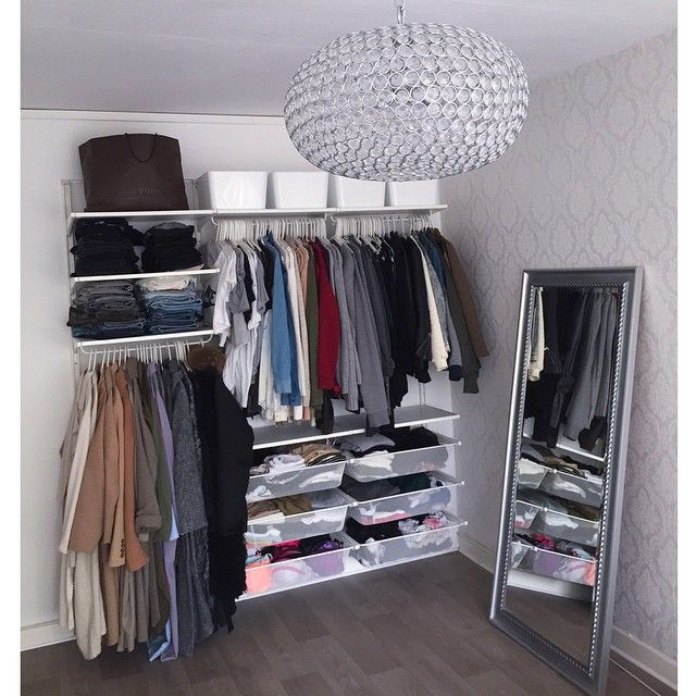 To Everyone Thats Been Asking Me About My Wardrobe Its The Algot System From IKEA
