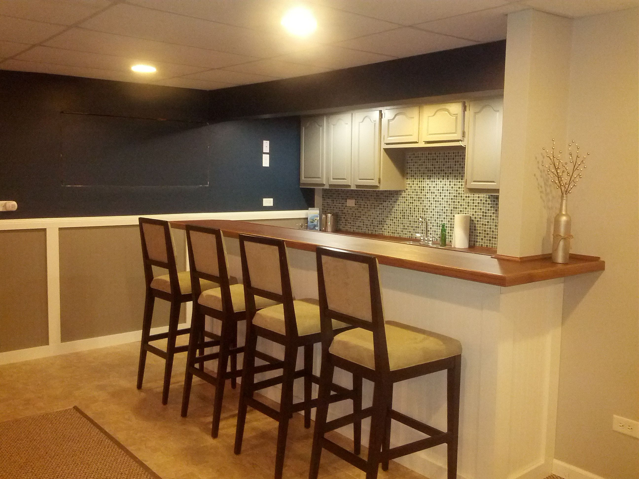 Diy Home Basement Bar Google Search Small Basement Design