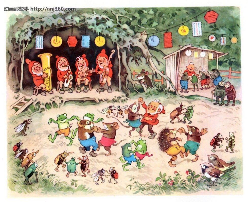 Fritz Baumgarten - Sommerfest im Märchenwald | Children's ...