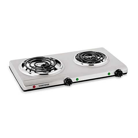 This Stainless Steel Double Coil Portable Cooking Range By Toastess Enables You To Cook Food Virtually Anywhere U Portable Cooktop Cooking Range Double Burner