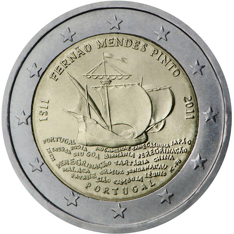 Monedas Conmemorativas De 2 2011 Monedas Monedas De Euro Moneda Española