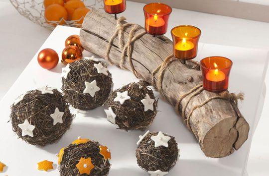 weihnachtsdeko aus naturmaterialien basteln snowy cozy christmas pinterest xmas advent. Black Bedroom Furniture Sets. Home Design Ideas