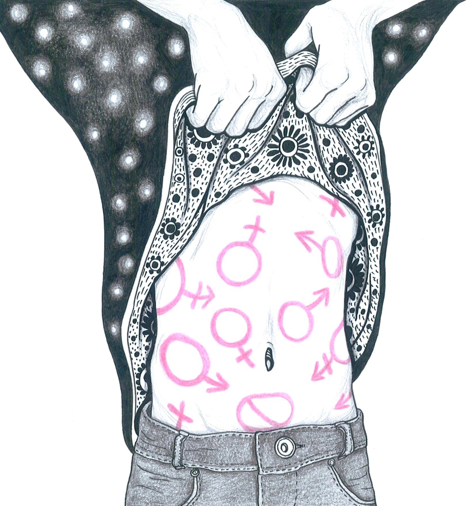 Gender Identity, by Anuk Beluga. gender4.jpg 1,619×1,755 pixels