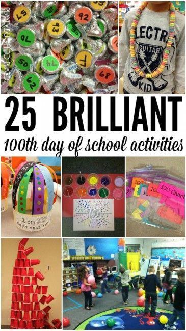 100th Day of School Activities - Playdough To Plato