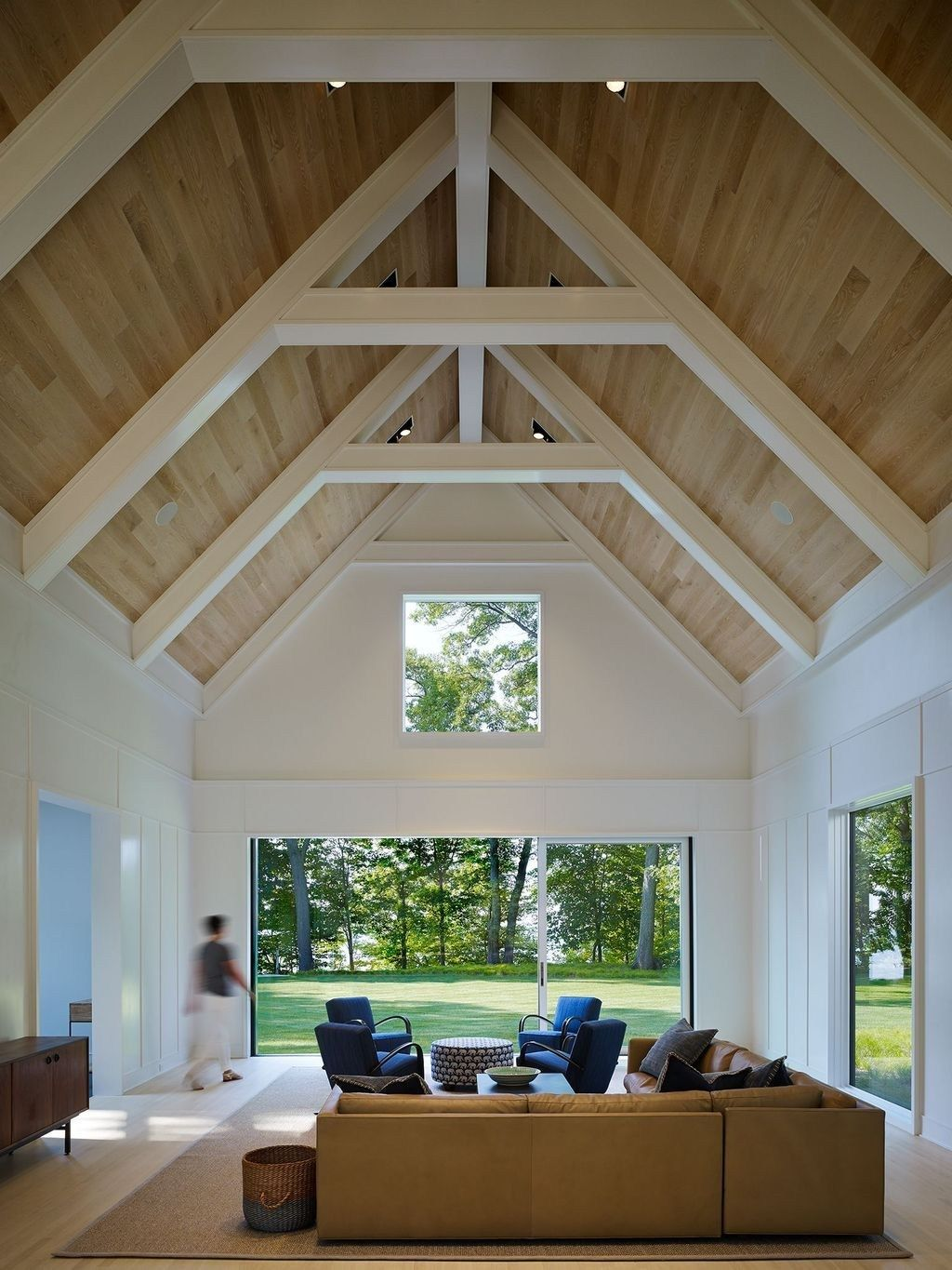 46 The Best Vaulted Ceiling Living Room Design Ideas images