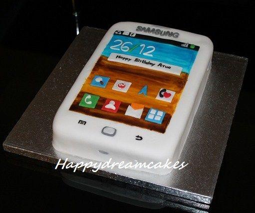 Samsung Cake Google Search Mit Bildern Fondant Torten Fondant Kuchen