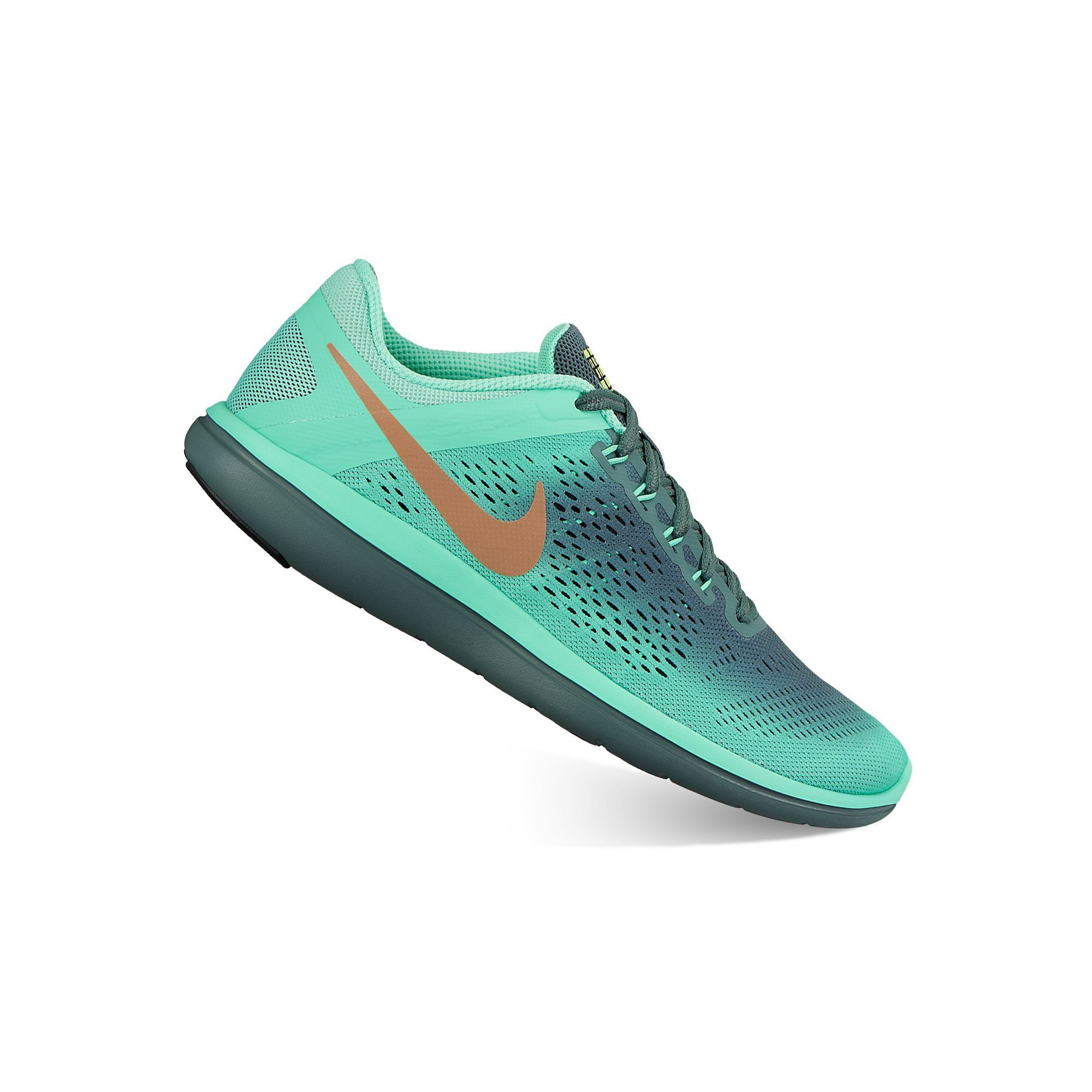 Evento capa Conceder  Nike Flex 2016 Run Shield Womens Water-Resistant Running Shoes, Size: 5,  Green | Nike flex 2016 run, Nike flex, Running shoes