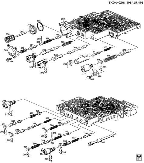 Parts Diagram For 4l60e Transmission