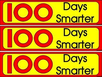100th Day Of School Bookmarks Color And Blackline Best