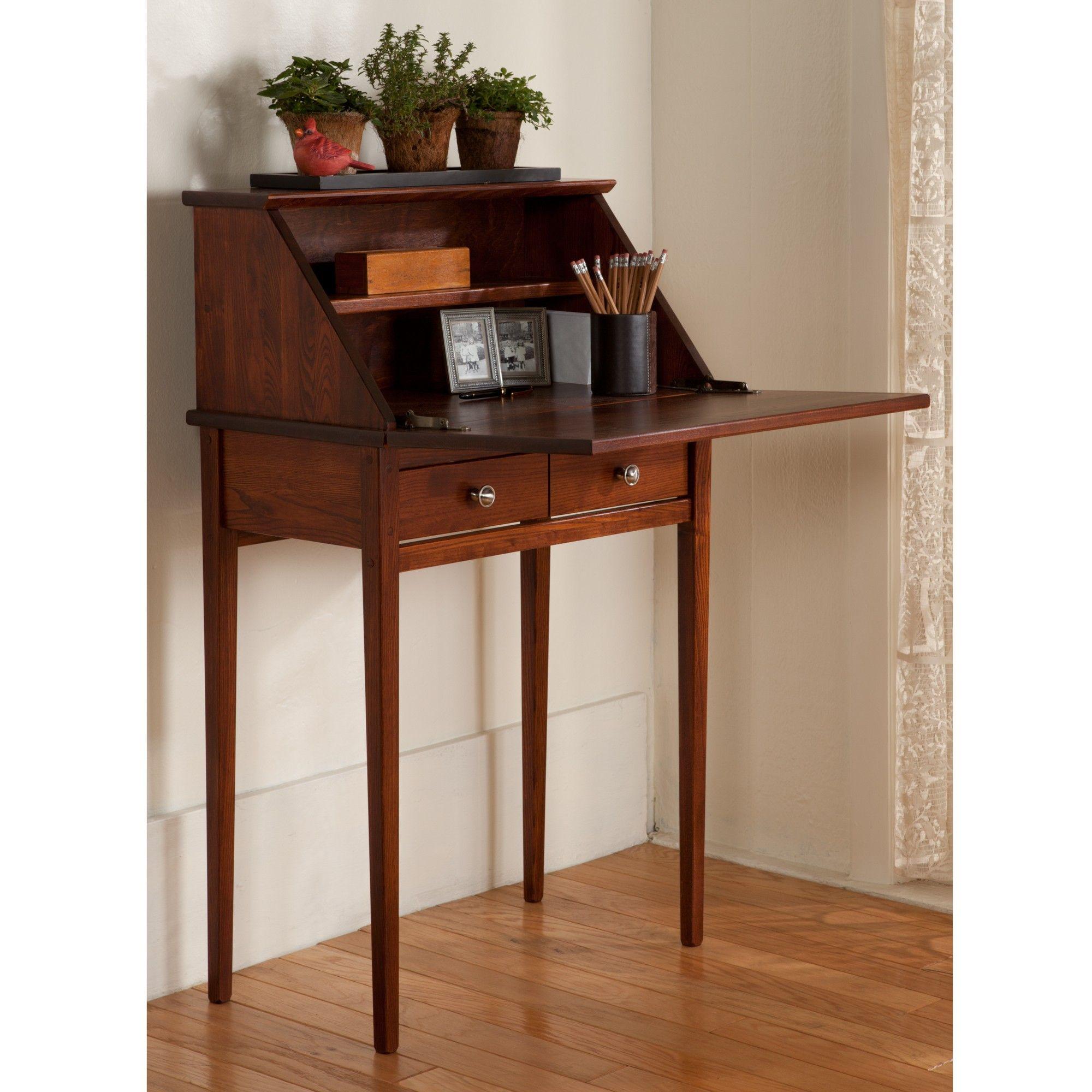Secretary Desk Desks For Small Spaces Modern Secretary Desk Small Secretary Desk