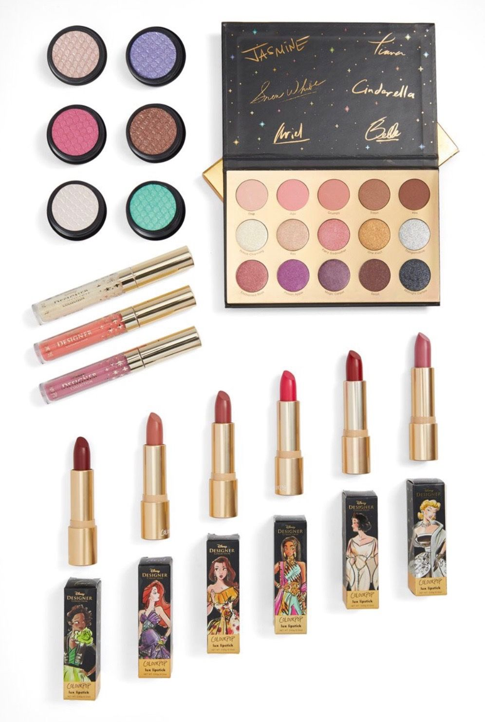 Colourpop Disney designer collection Disney makeup