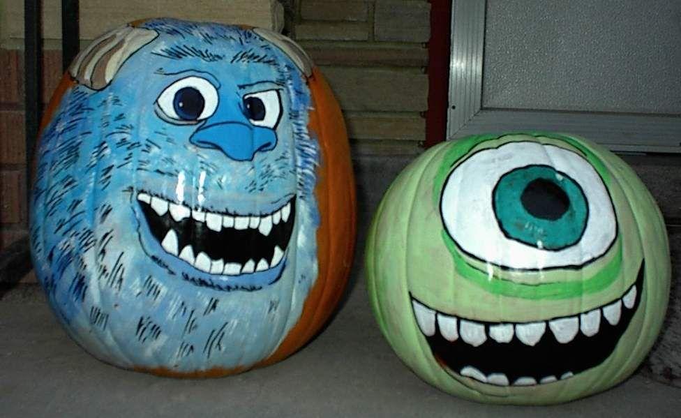 monsters inc   pumpkin painting   Pinterest   Pumpkin ...