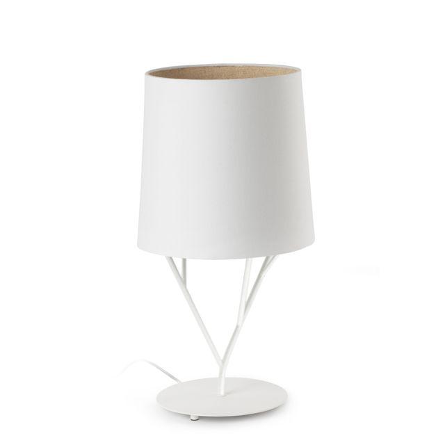 Lámpara de Mesa blanca diseño árbol #lamparas #iluminacion ...