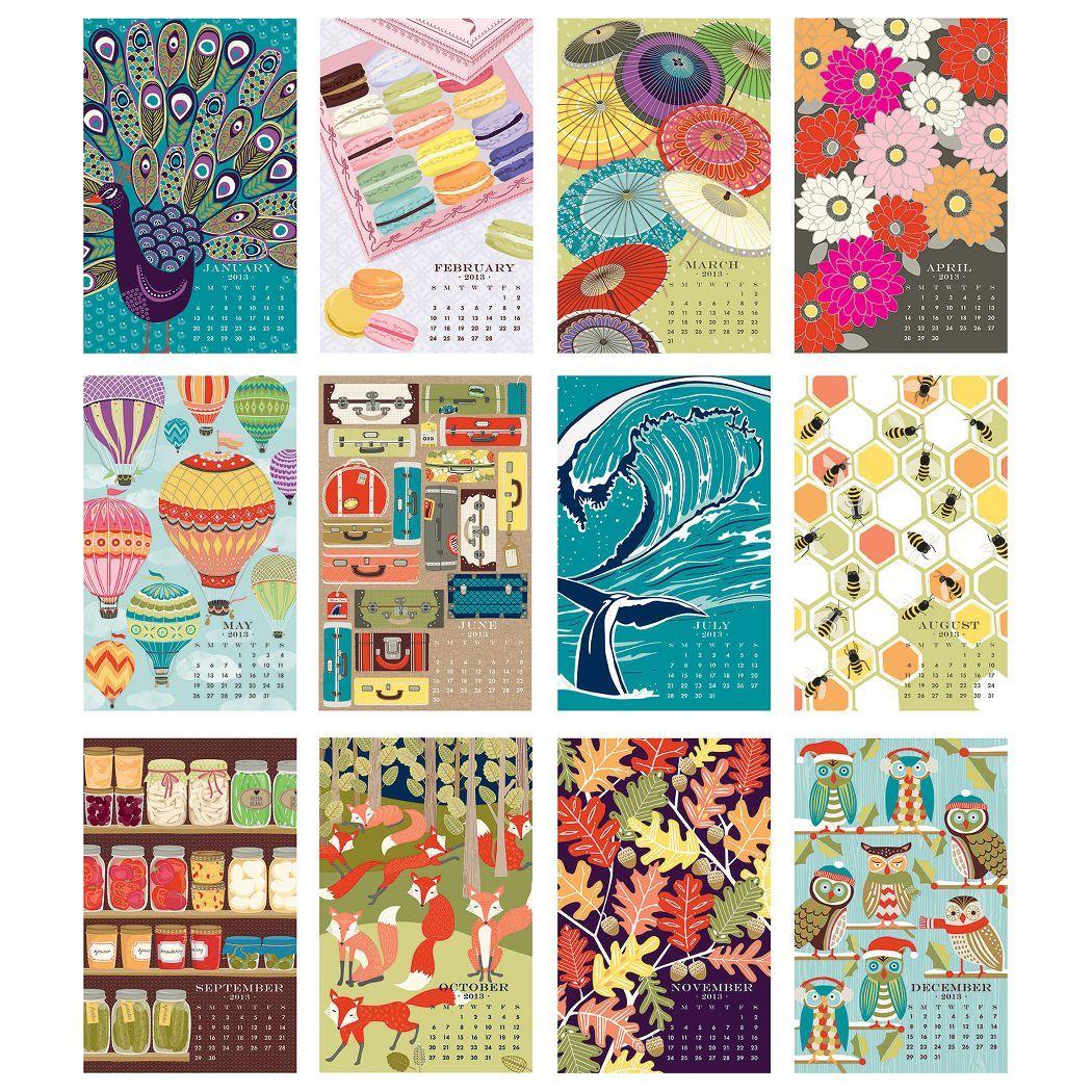 Gifts From Paper Source Paper Source Calendar Design Creative Calendar Art Calendar