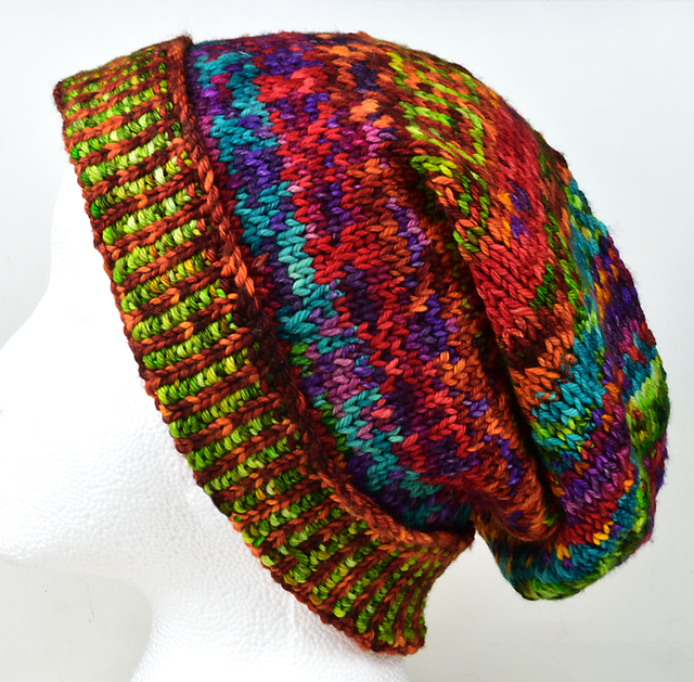 Ravelry: Meadowcroft Slouchy Hat pattern by Dave Burrows ...