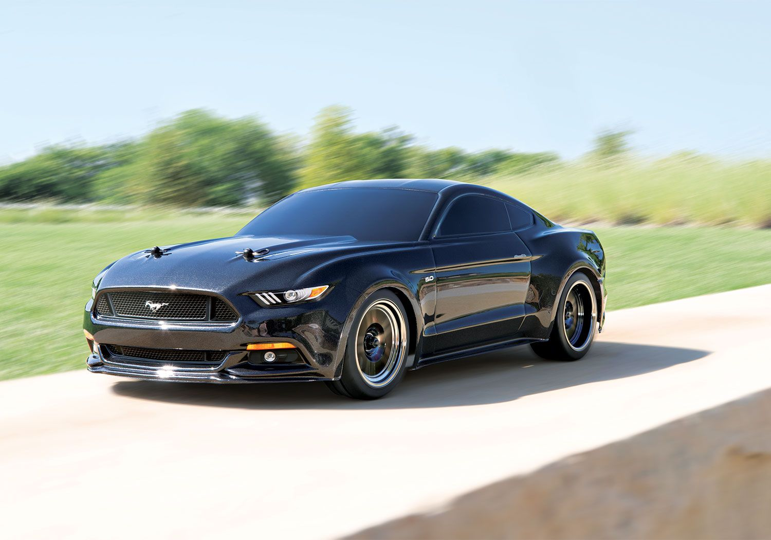 Tear Around Your Yard With This Remote Control Ford Mustang Gt By Traxxas I M Not Saying You Can Terrorize Small Animals Ford Mustang Gt Ford Mustang Traxxas