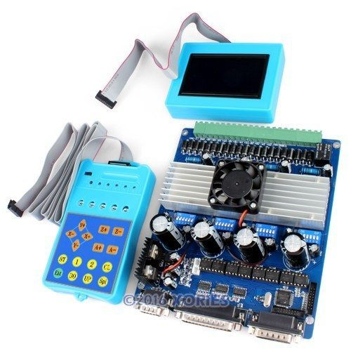 4 Axis Intelligent Tb6560 Stepper Motor Driver Lcd Display Handle Controller Stepper Motor Cnc Router