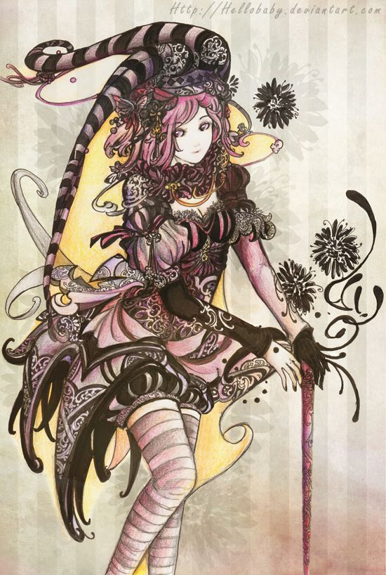 Anime Jester Characters : Jester girl by `hellobaby on deviantart ilustradores del