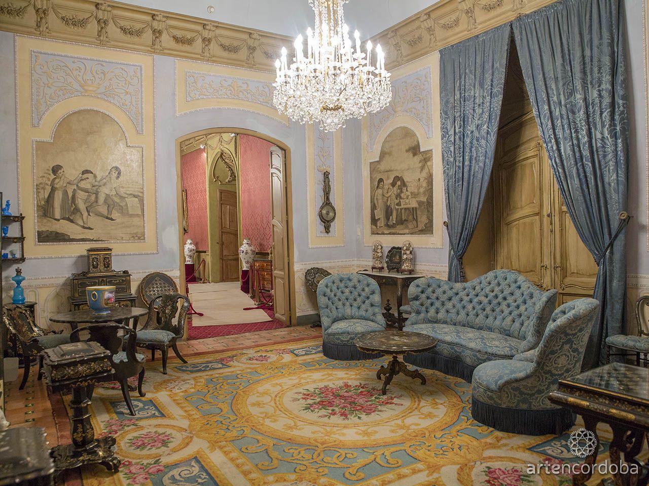 El Sal N De Los Sentidos Del Palacio De Viana C Rdoba Debe Su  # Muebles Viana Salas