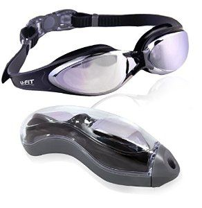 Amazon.com : U-FIT Top Performance Swim Goggles - Comes With Case! : Sports & Outdoors