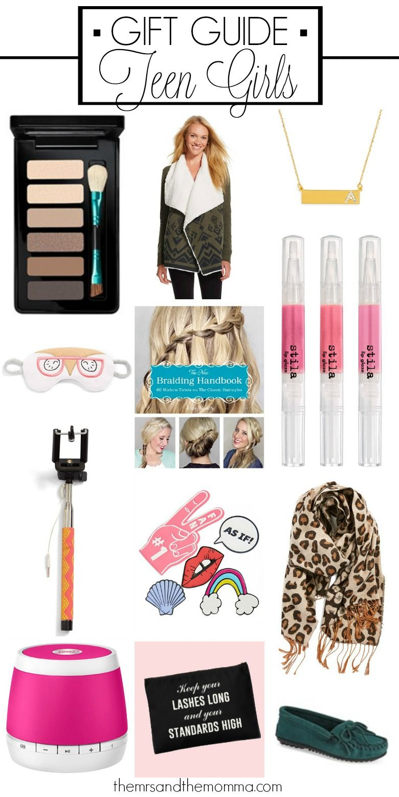Holiday Gift Guide: Teen Girls | The Mrs. & The Momma Blog | Pinterest