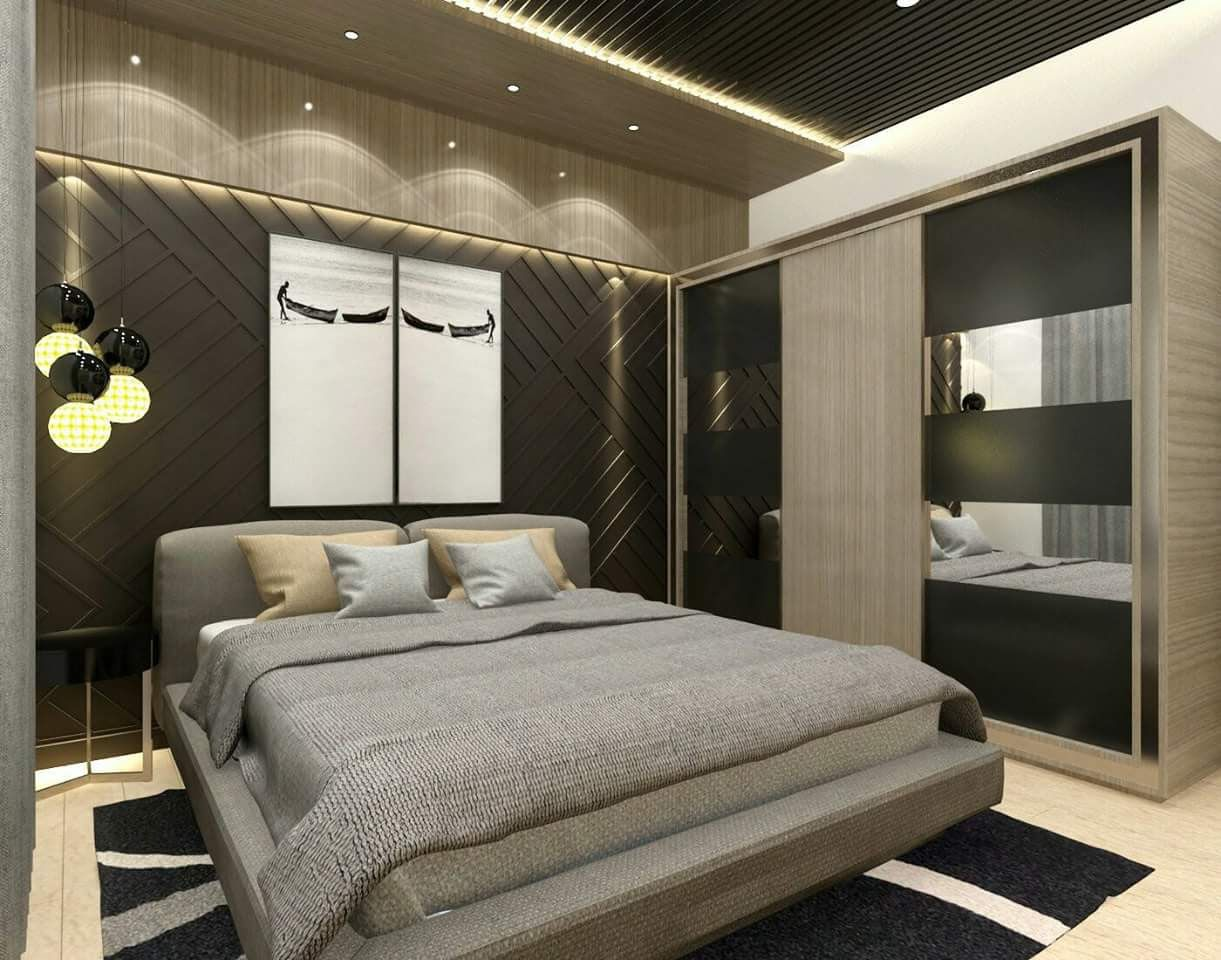 bhk interior designs walldrop homedeore bedroom also rh pinterest