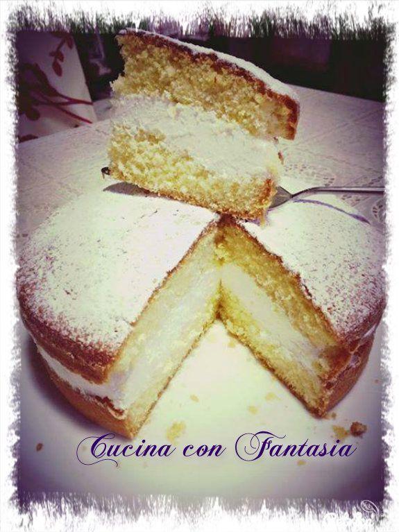 Torta paradiso di Rosaria Girardi   Cucina con Fantasia   Ricette da ...