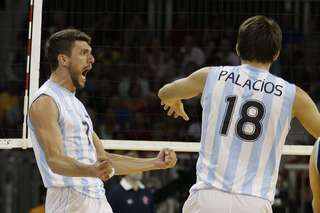 Facundo Conte - Ezequiel Palacios - Volleyball - Men - Argentina