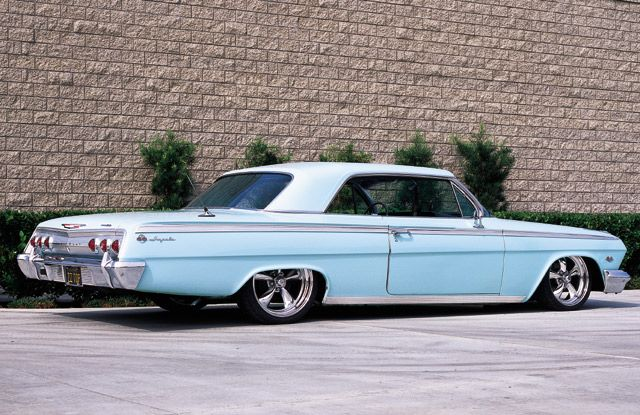 1962 Chevy Impala SS: My brother Carlos owned a light yellow similar to this one…