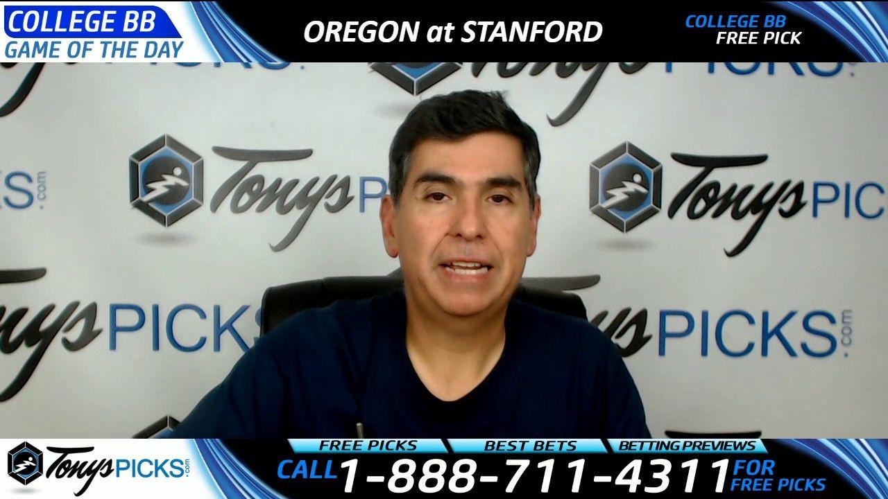 Oregon vs. Stanford Free NCAA Basketball Picks and