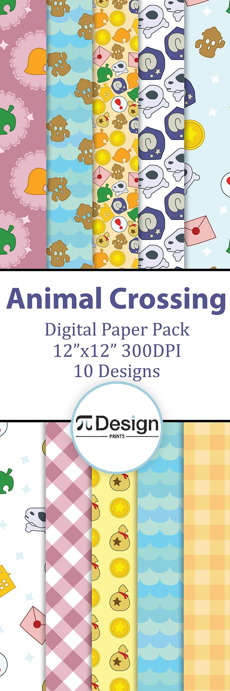 Scrapbook ideas video download - Have Fun With Your Animal Crossing Pals With This Digital Paper Pack Perfect For Scrapbooking