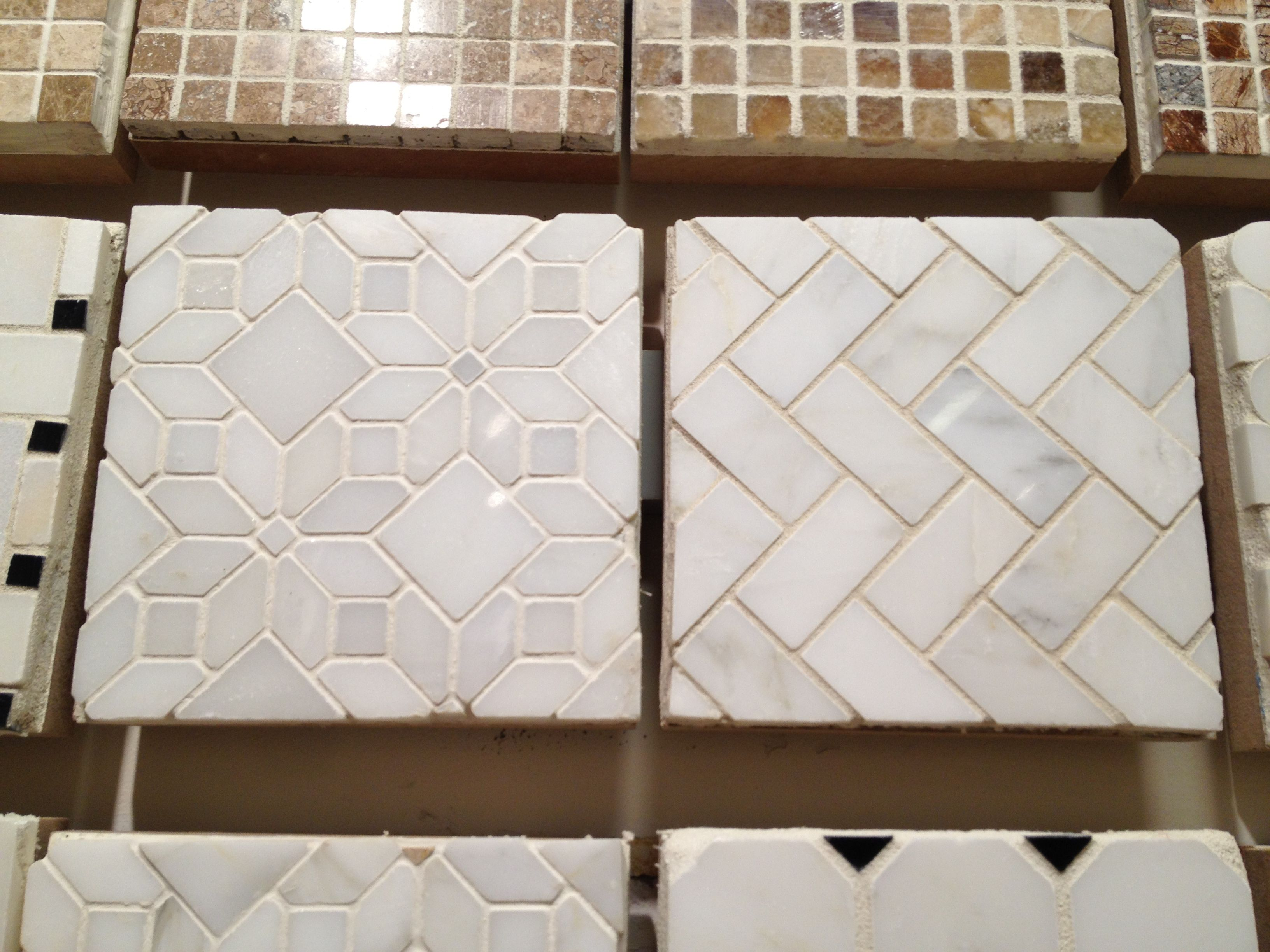 Kitchen: Tile-soo awesome if you had a good sealant and grey or ...