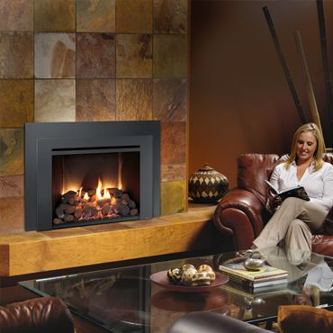 The 616 Gas Insert By Lopi Showcases A Fire That Is 2nd To None