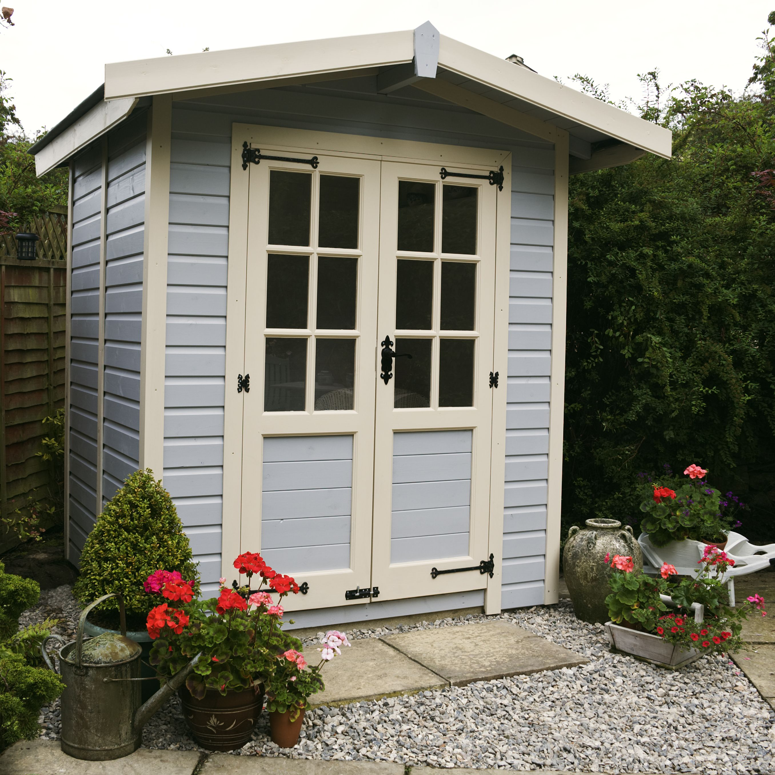 My very own summer house in my garden lovingly built by my husband ...