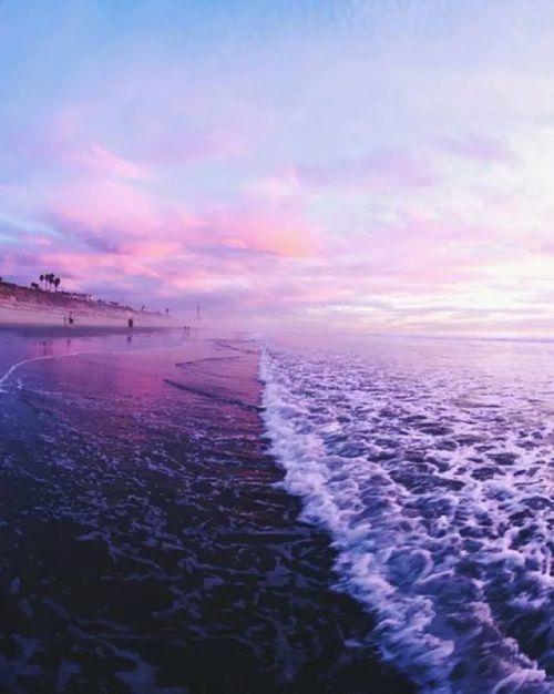 Mermaid Aesthetic Mermaids Purple Water Wiev Waves Wave Ocean Sea Sand Beach Purple Aesthetic Aesthetic Wallpapers Lavender Aesthetic