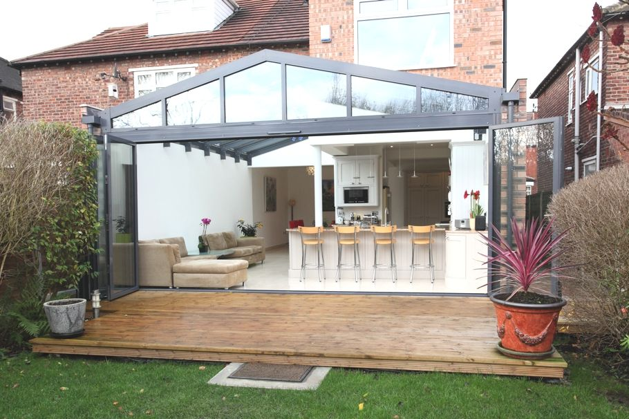 Open Plan Kitchen Ideas Uk contemporary conservatory ideas: open plan extension for the home