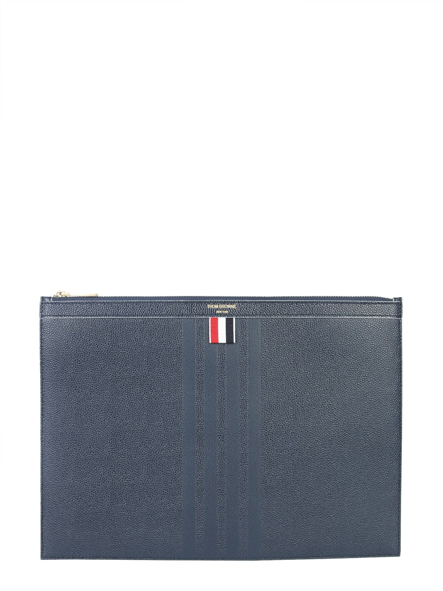 1163783821 THOM BROWNE LEATHER DOCUMENT HOLDER. #thombrowne | Thom Browne in ...