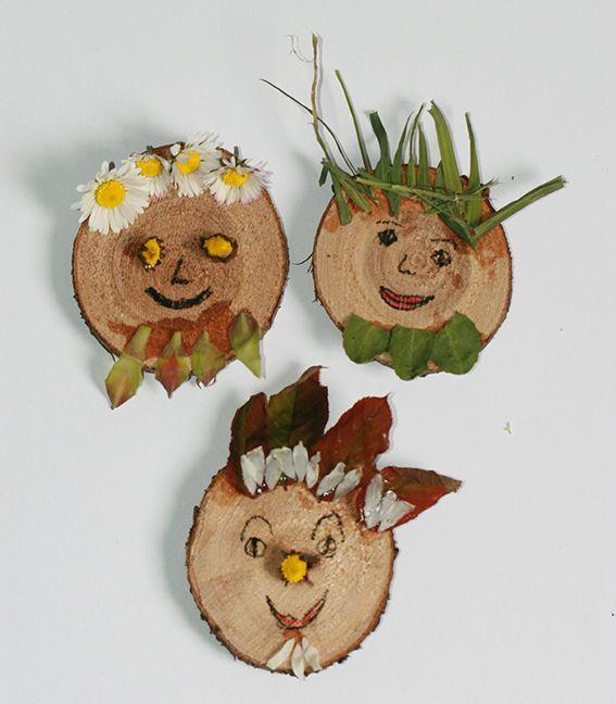 Wonderlijk Kopstukken #knutselen #herfst Meer leuke activiteiten in de natuur NJ-37