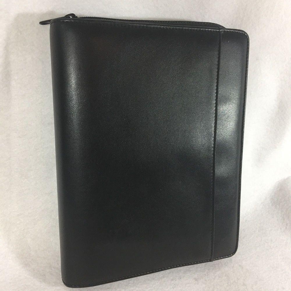 photograph regarding Day Runner Binder identify Vtg 90s Working day Runner Clic Variation Leatherette Planner Zip