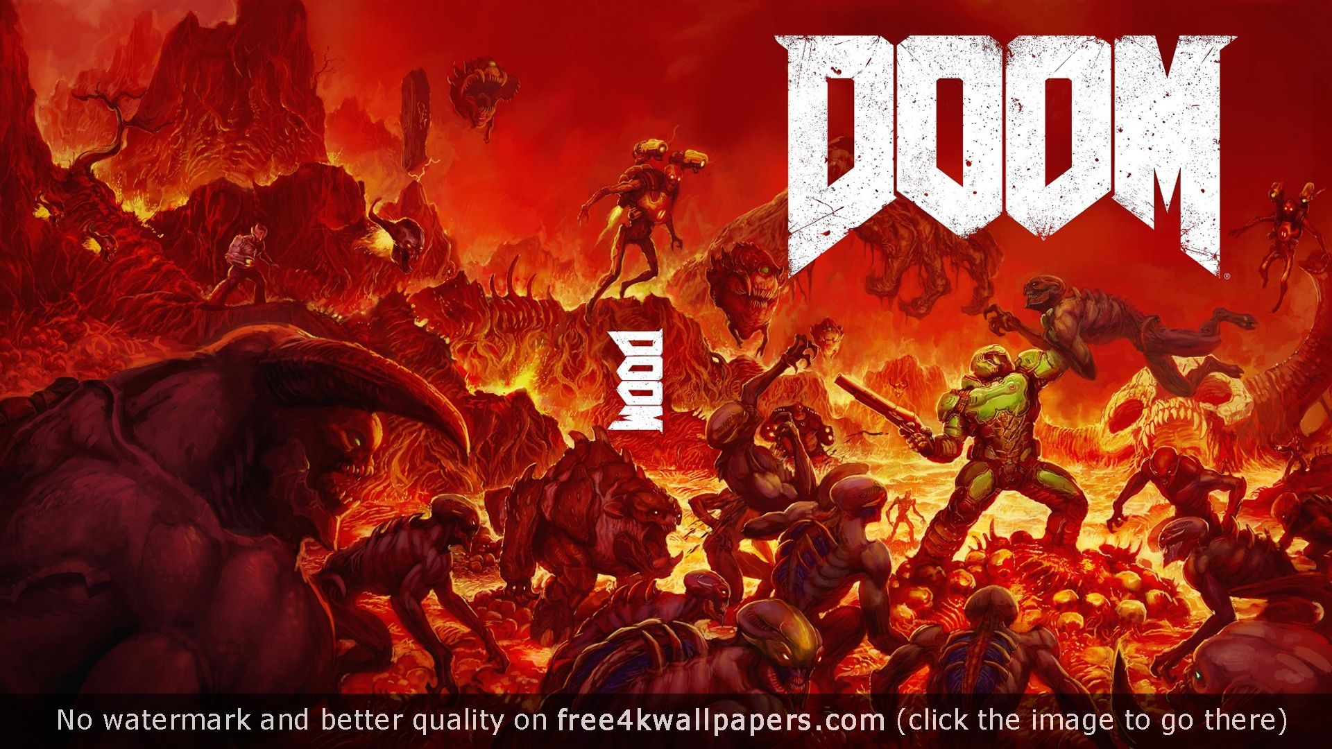 Doom Game 4K or HD wallpaper for your PC, Mac or Mobile